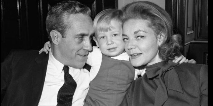 Lauren Bacall and Jason Robards