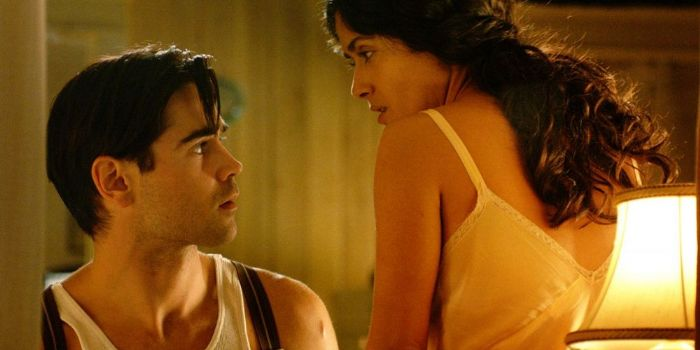 Colin Farrell and Salma Hayek