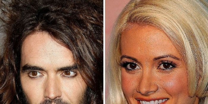 Holly Madison and Russell Brand