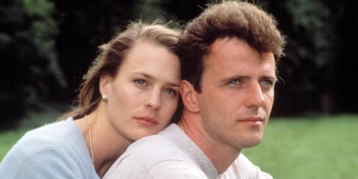Aidan Quinn and Robin Wright