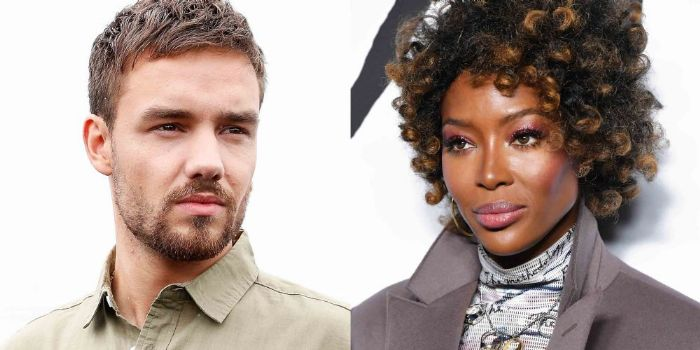 Liam Payne and Naomi Campbell