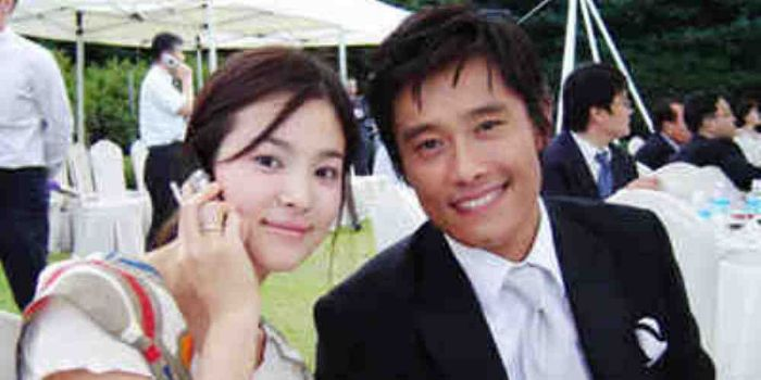 Former boyfriend and girlfriend: Lee Byung-hun and Song Hye Kyo