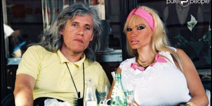 Lolo Ferrari and Eric Vigne