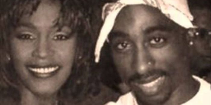 Whitney Houston and Tupac Shakur