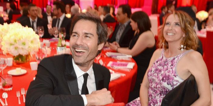 Eric McCormack and Janet Leigh Holden McCormack