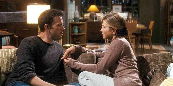 Jennifer Aniston and Ben Affleck