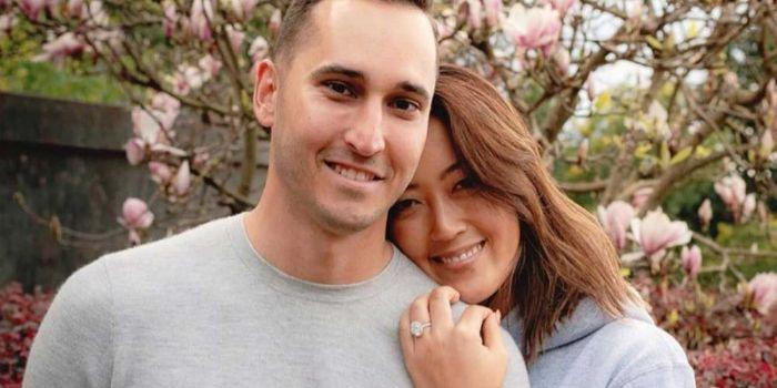 Michelle Wie and Jonnie West