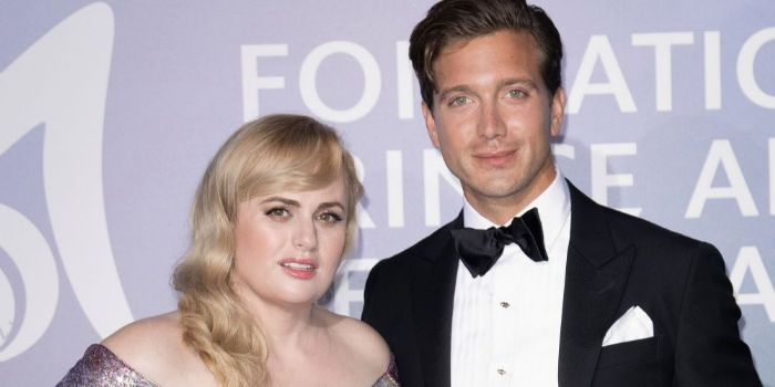 Jacob Busch and Rebel Wilson