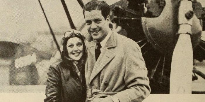 Loretta Young and Grant Withers