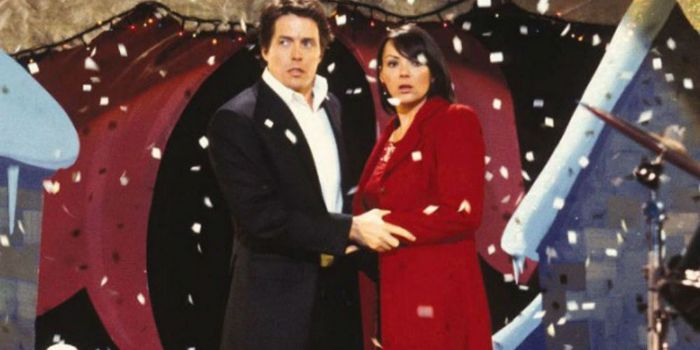 Martine McCutcheon and Hugh Grant