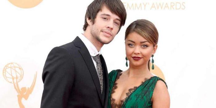 Matt Prokop and Sarah Hyland