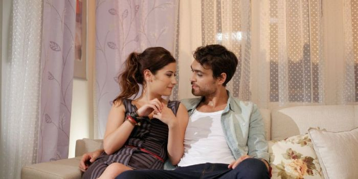 Hazal Kaya and Hakan Kurtas