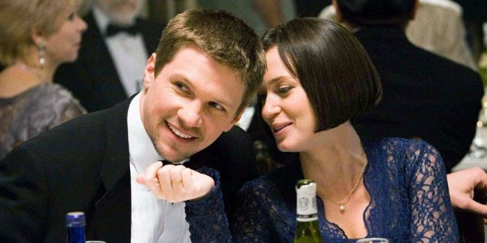 Marc Blucas and Emily Blunt