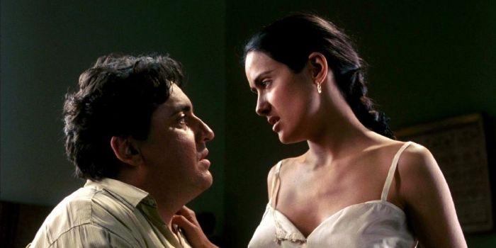 Salma Hayek and Alfred Molina