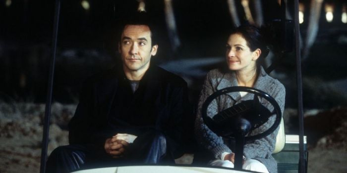 John Cusack and Julia Roberts
