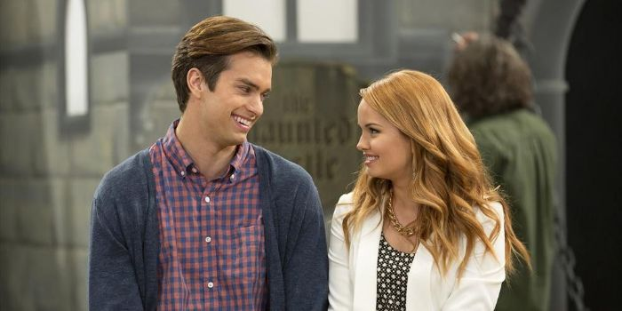 Pierson Fode and Debby Ryan