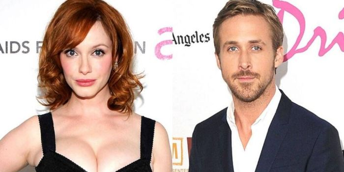 Ryan Gosling and Christina Hendricks