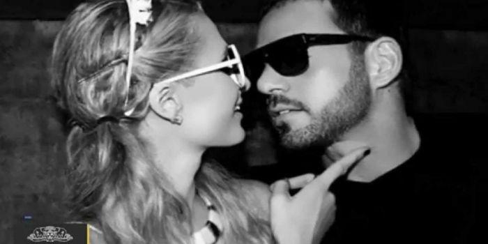 Paris Hilton and Thomas Gross