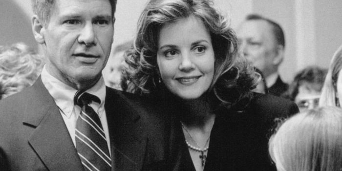 Harrison Ford and Margaret Colin