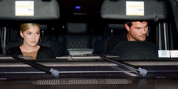 Olivia Holt and Taylor Lautner