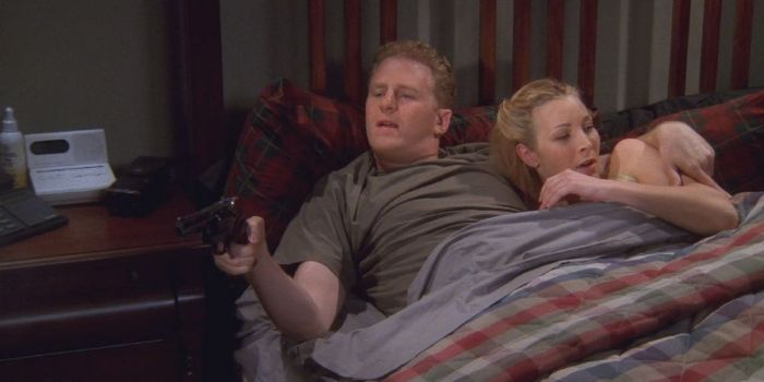 Lisa Kudrow and Michael Rapaport