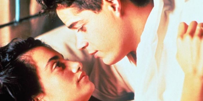 Penélope Cruz and Jorge Sanz