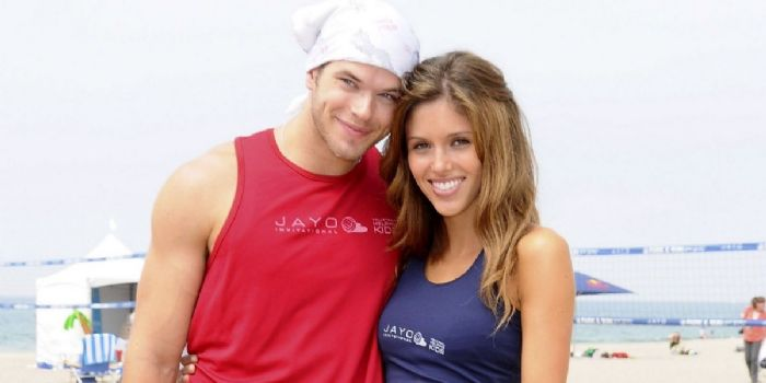 Kellan Lutz and Kayla Ewell