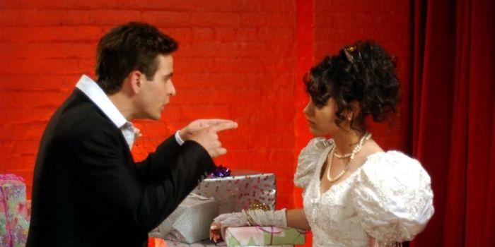 Mila Kunis and Joey McIntyre