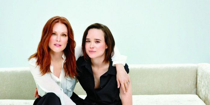 Julianne Moore and Ellen Page