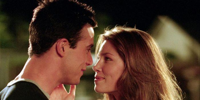 Jessica Biel and Freddie Prinze JR