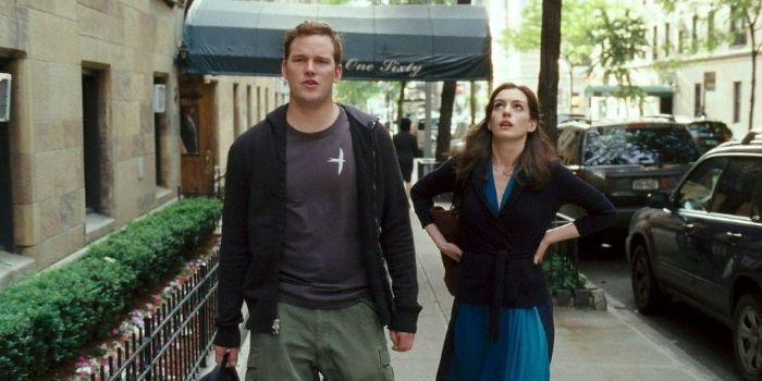 Anne Hathaway and Chris Pratt