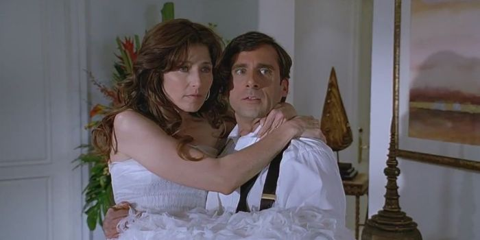 Catherine Keener and Steve Carell