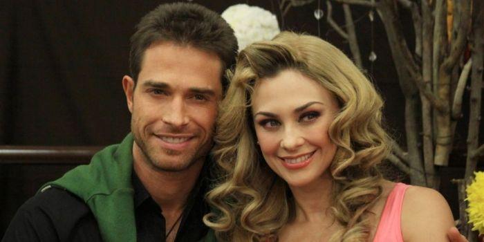 Aracely Arámbula and Sebastián Rulli