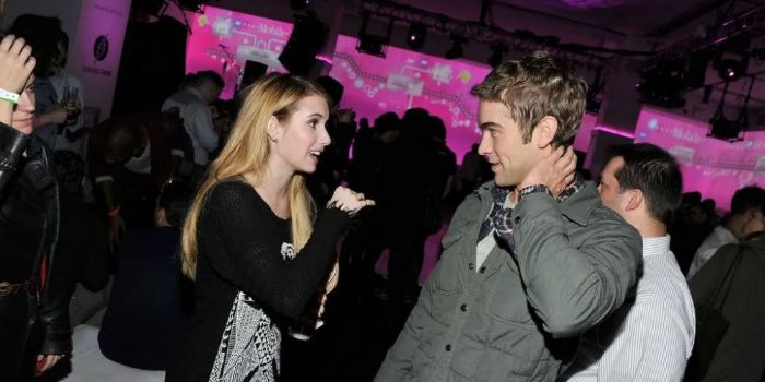 Emma Roberts and Chace Crawford