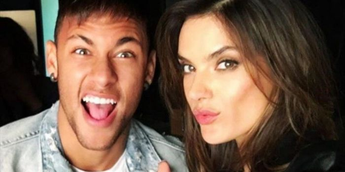 Alessandra Ambrosio and Neymar