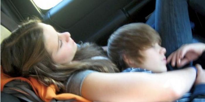 Justin Bieber and Caitlin Beadles