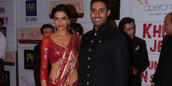 Deepika Padukone and Abhishek Bachchan