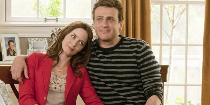 Jason Segel and Emily Blunt