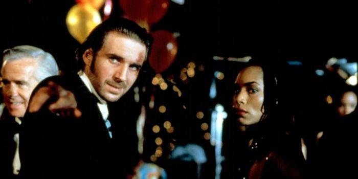 Ralph Fiennes and Angela Bassett
