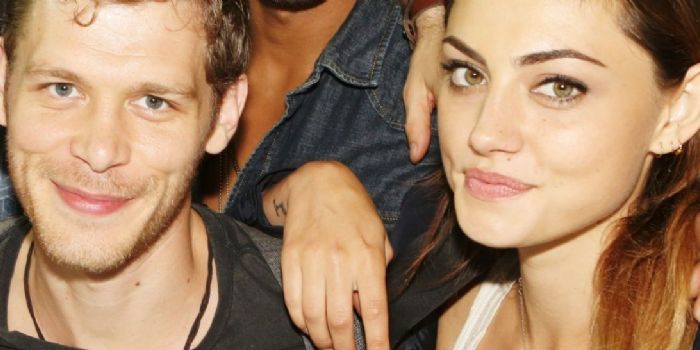 Joseph Morgan and Phoebe Tonkin