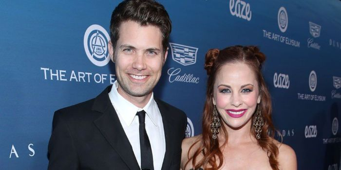 Andrew Seeley and Amy Paffrath