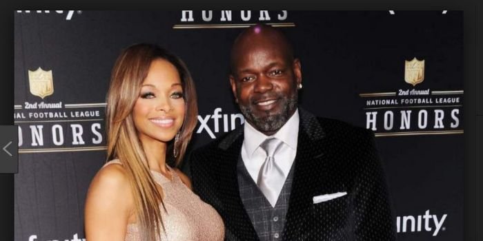 Emmitt Smith and Patricia Southall