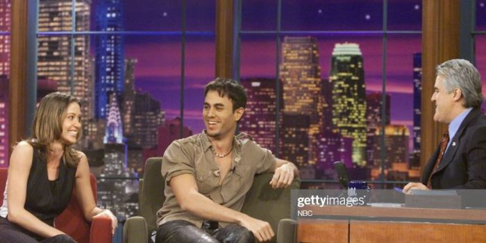 Enrique Iglesias and Shannon Elizabeth