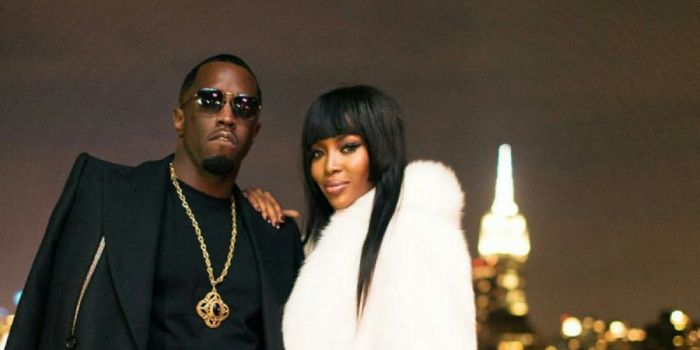 Puff Daddy and Naomi Campbell