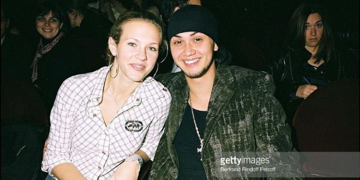 Billy Crawford and Lorie