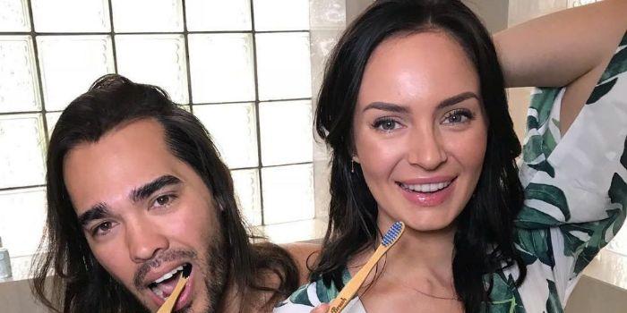 Chloe Morello and Sebastian Maximiliano