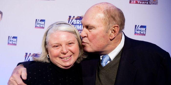Willard Scott and Paris Keena