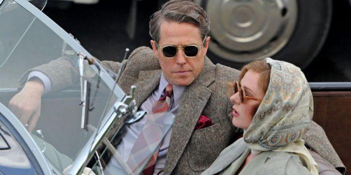 Rebecca Ferguson and Hugh Grant