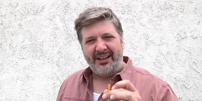 Lance Barber beard