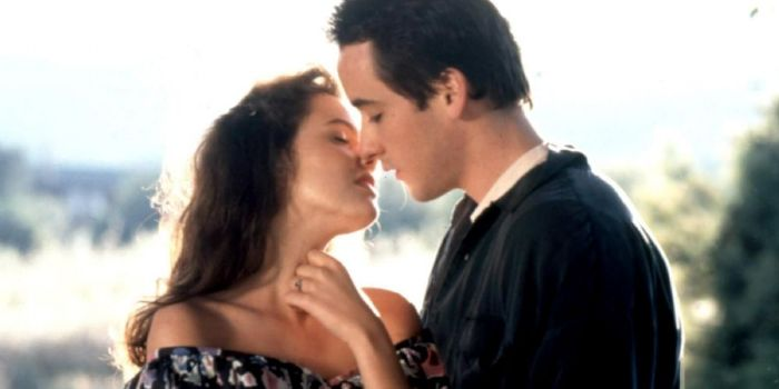 John Cusack and Ione Skye